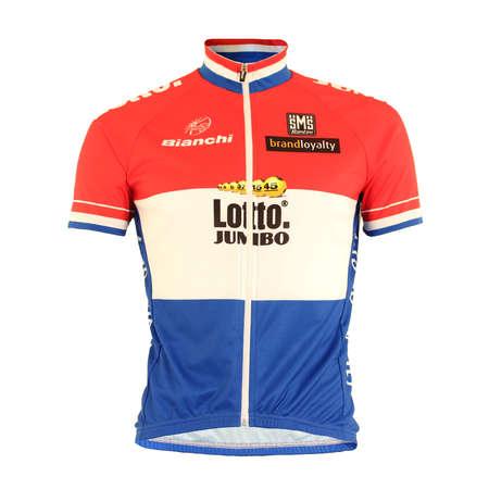 picture Team LottoNL-Jumbo Replica Fietsshirt NL kampioen 2016