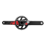 SRAM X01 Eagle 32T GXP Crankset 175mm Single Rood