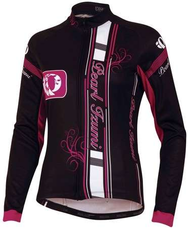 picture Elite Thermal LTD Fietsshirt Lange Mouwen Zwart/Paars Dames
