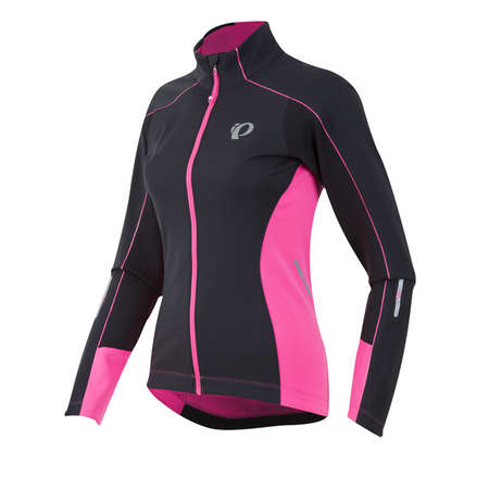 picture Elite Pursuit Softshell Fietsjack Zwart/Roze Dames