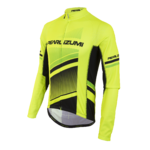 Pearl Izumi Elite Thermal LTD Fietshirt Lange Mouwen Geel Heren