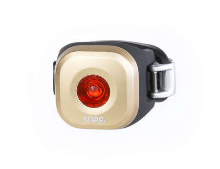picture Blinder Mini Dot LED Achterlicht Goud