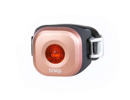 picture Blinder Mini Dot LED Achterlicht Koper