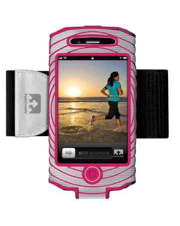 picture Sonic Boom I-phone 4 & 4S Houder Zilver/Roze