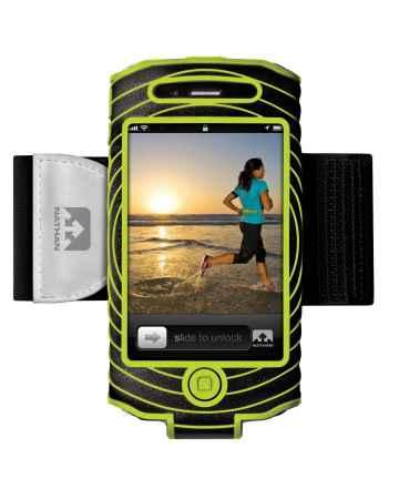 picture Sonic Boom I-phone 4 & 4S Houder Zwart/Groen
