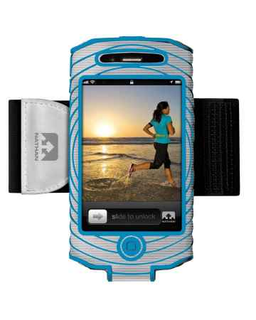 picture Sonic Boom I-phone 4 & 4S Houder Zilver/Blauw