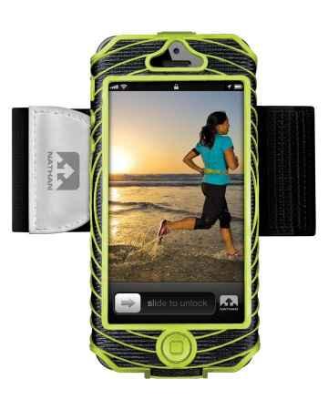 picture Sonic Boom I-phone 5 Houder Zwart/Groen