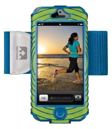 picture Sonic Boom Iphone 5 Houder Groen/Blauw