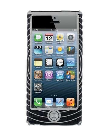 picture Sonic Grip iPhone 5 Houder Zwart/Zilver