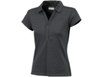 Columbia Shadow Time Poloshirt Korte Mouwen Zwart Dames