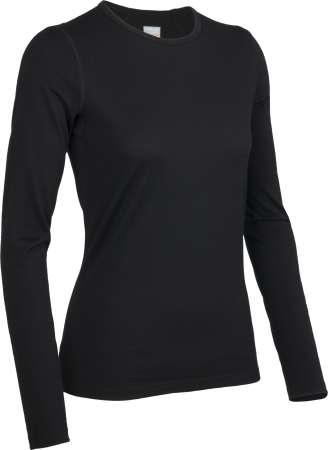 picture Bodyfit 200 Oasis Crewe Shirt Lange Mouwen Zwart Dames