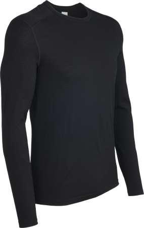 picture Bodyfit 200 Oasis Crewe Shirt Lange Mouwen Zwart Heren
