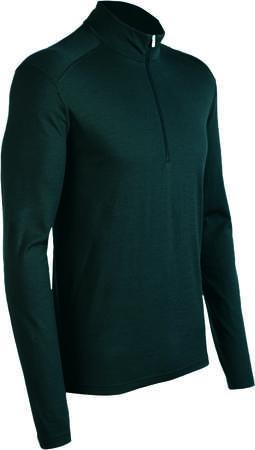 picture Oasis Half Zip Shirt Lange Mouwen Zwart Heren