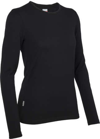 picture Tech Top Crewe Shirt Lange Mouwen Zwart Dames