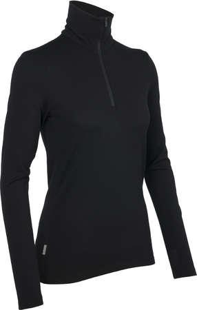 picture Tech Top Half Zip Shirt Lange Mouwen Zwart Dames
