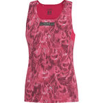 Running Wear Air Print Singlet Roze Dames