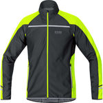 GORE Running Wear Mythos 2.0 WS SO Zip-Off Light Hardloopjack Zwart/Neon Ge