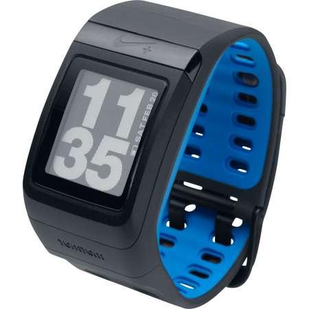 Nike Plus Sportwatch GPS Zwart/Blauw
