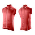 2XU 360 Run Vest Rood Heren