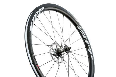 picture 303 Firecrest Carbon Clincher Disc Voorwiel Wit