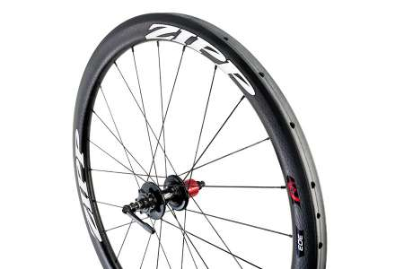 picture 303 Firecrest Carbon Clincher Disc Achterwiel Wit