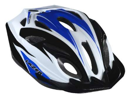 picture Tempo Sport Insectmesh CE MTB Helm Blauw/Wit