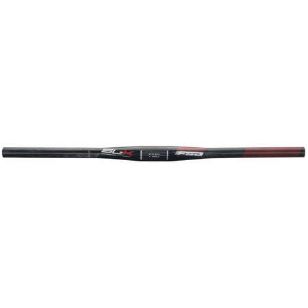 picture SL-K Flat UD Carbon MTB Stuur 31.8 x 740mm Zwart/Rood