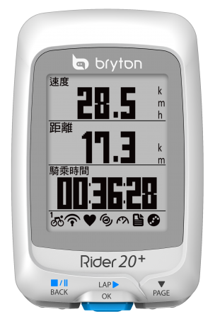 picture Rider 20+ E GPS Wit