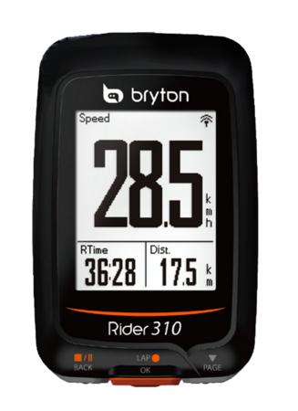 picture Rider 310E GPS Zwart/Oranje