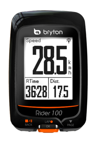 picture Rider 100T GPS Zwart/Oranje