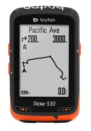 picture Rider 530E GPS Zwart/Oranje