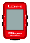 Lezyne Super GPS Special Edition Rood