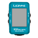 Lezyne Super GPS Special Edition Blauw