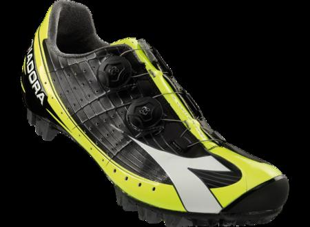 picture X-Vortex-Pro Mountainbikeschoenen Zwart/Fluo Geel Heren