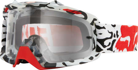 picture Air Space Cauz White Fade Downhill Fietsbril Wit/Rood/Zwart