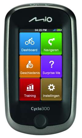 Mio Cyclo 300 GPS West Europa
