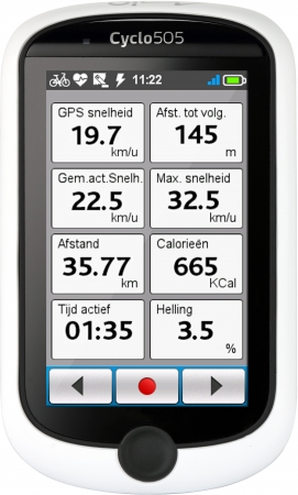 Mio Cyclo 505 GPS West-Europa