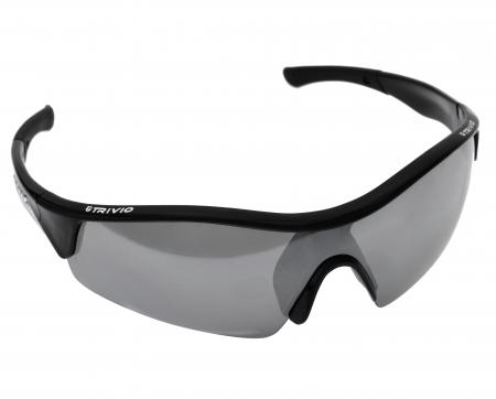 picture Sportbril Vento Zwart Met 2 Extra Lenzen