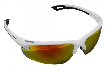 picture Sportbril Verdigo Mat Wit/Zwart met 2 extra lenzen