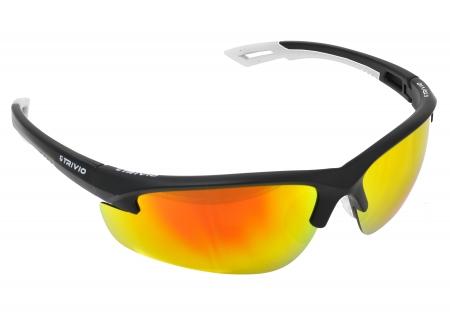 picture Sportbril Verdigo Mat Zwart/Wit met 2 extra lenzen