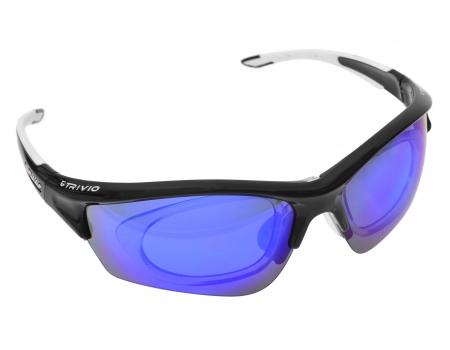 picture Sportbril Nimity Duolux Zwart/Wit met 2 extra lenzen