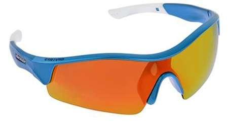 picture Sportbril Vento Blauw/Wit met 2 Extra Lenzen