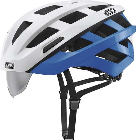 picture In-Vizz Ascent Race Fietshelm Wit/Blauw