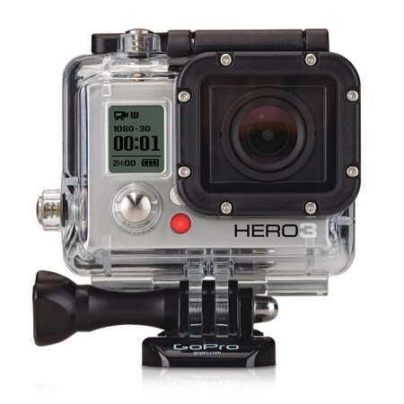 picture HD Hero3 Camera White Edition