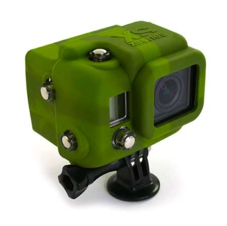 picture Hooded Silicone Cover voor GoPro Hero3 w LCD