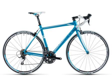 Cube Axial WLS Pro blue'n white Dames Racefiets