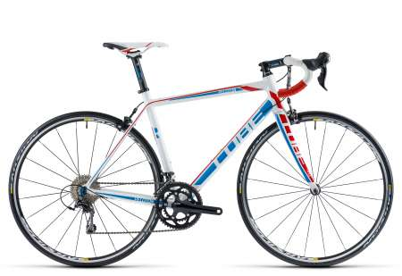 picture PELOTON Race Compact white blue´n´red Racefiets