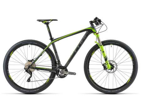 picture REACTION GTC Pro 29 black´n´green Mountainbike