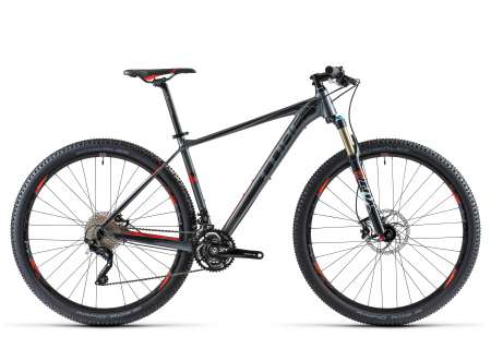 picture REACTION Pro 29 grey´n´flashred Mountainbike