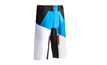 picture Action Pilot Downhill Fietsbroek Wit/Blauw/Rood Heren